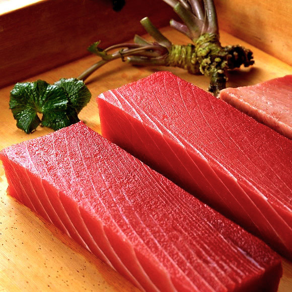 Тунец Yellowfin <br> Saku. Китай